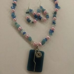 Jewelry - Handmade Agate necklace